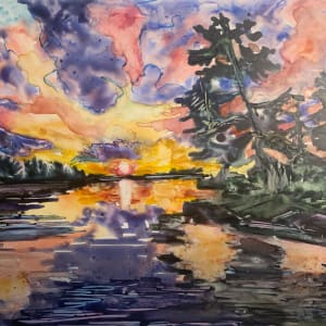 The Day Burst into The Night by Holly Friesen