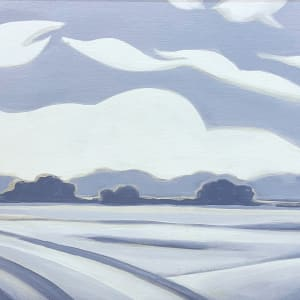 Abstract Landscape Study II by Christie Snelson