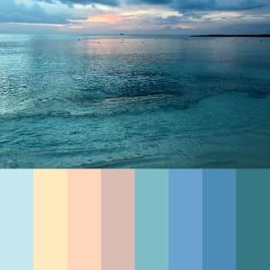 108: Bahamas Sunset (Kat) Grande by Kat Allie