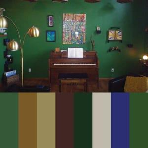 108: Living Room Springfield MO (Jon) by Kat Allie
