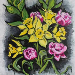 Radiant Bouquet by Sonya Kleshik