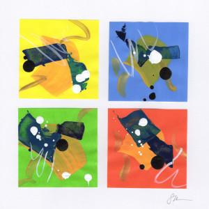 Origami Abstract 34 by Sonya Kleshik