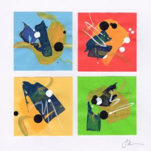 Origami Abstract 35 by Sonya Kleshik