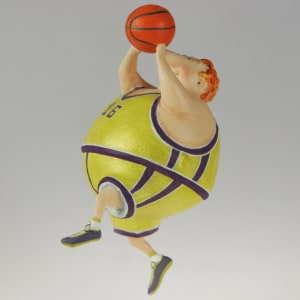 Basketball player by Ima Naroditskaya