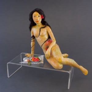 Breakfast with Gauguin by Luella Mossom