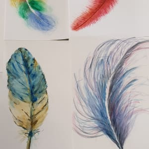 Feather Drawing Workshop by Workshops 2021 Completed