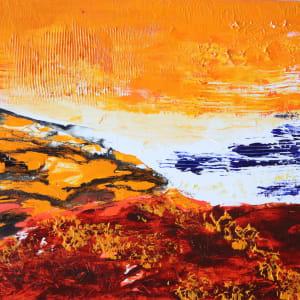 orange atoll by Paige Zirkler