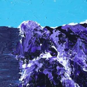 maui purple rocks by Paige Zirkler
