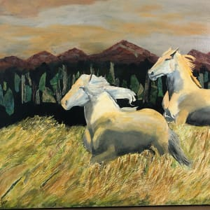 Horses in the Wind by Susan Soffer Cohn