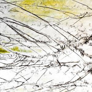 Sans Souci 2 (Last Winter Snow) by Michael Endicott