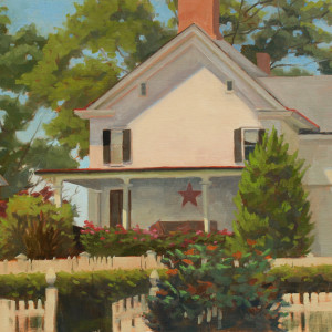Taylor house oil 16x20 gcgwpz