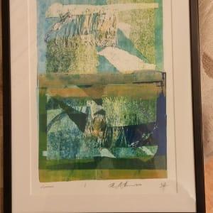 Monoprint by HB Barry Strasbourg-Thompson BFA