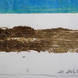 Monoprint  mixed media by HB Barry Strasbourg-Thompson BFA