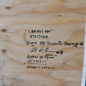 I Am As I Am H73170819 by HB Barry Strasbourg-Thompson BFA