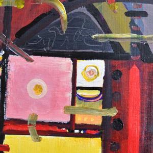 On Self-Isolation #2  H73050420 (SKETCH) by HB Barry Strasbourg-Thompson BFA