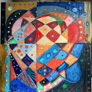 Meditation (On Self-Isolation) #3 H73200420 by HB Barry Strasbourg-Thompson BFA