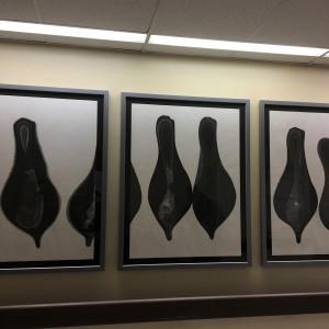 Triptych by Joanne Bauman