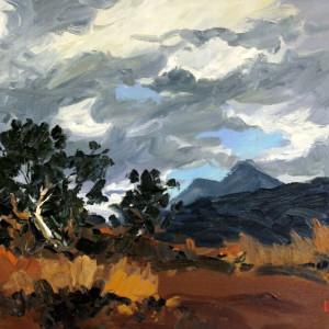 Autumn Storm by Hugh Cabot III