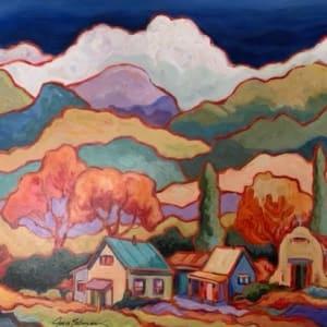 Untitled Landscape by Judith S Bateman