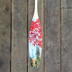 Fiery Fall (small paddle)