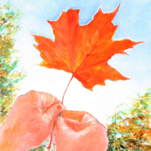 First Catch of Fall by Jill Cooper