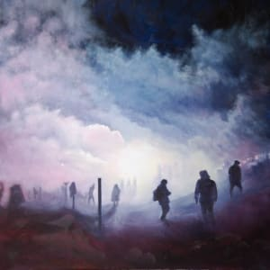 Seeing Through the Smoke - Despite Tear Gas by Jill Cooper