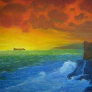 Orange Storm by Jill Cooper