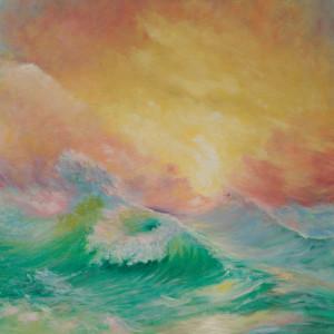Sorbet Sunrise by Jill Cooper