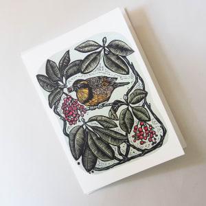 Greeting Card: Autumn Joy by Carolyn Howse