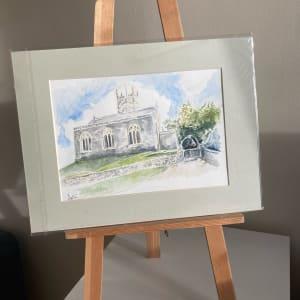 Moreton Church by Ally Tate