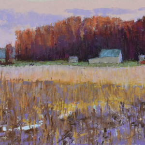 Morning light on the landscape plein air omakc0