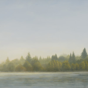Fog Lifting at Green Lake