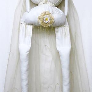 Auntie MacCassar's Wedding Dress Redux #2 & Inner Auntie by Barbetta Lockart