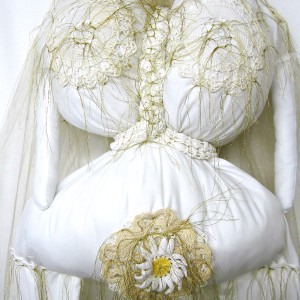 Auntie MacCassar's Wedding Dress Redux #2 & Inner Auntie by Barbetta Lockart