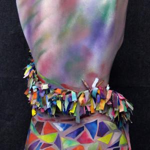 L'Artiste De Printemps: A La Seurat by Barbetta Lockart