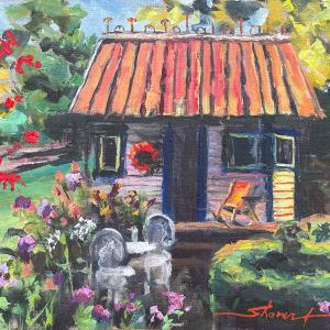 Plein Summer Evening by Sharon Rusch Shaver
