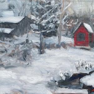 Plein Winter by Sharon Rusch Shaver