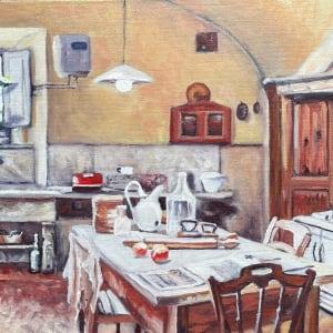 Italian Kitchen by Sharon Rusch Shaver