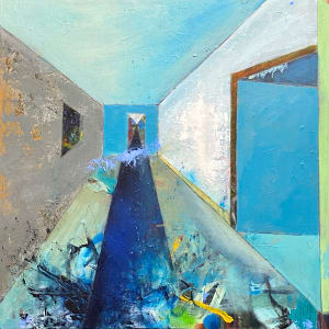 Rooms-The long and narrow path by Theresa Vandenberg Donche
