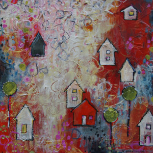 Orange Wednesday, Kaleidoscope Community by Sarah Goodnough