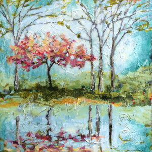 Reflecting Happiness by Sarah Goodnough