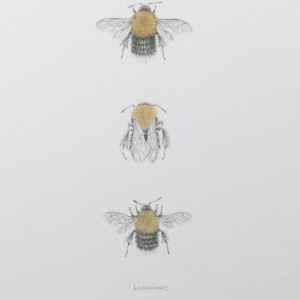Tree BumbleBee 3.6 by Louisa Crispin