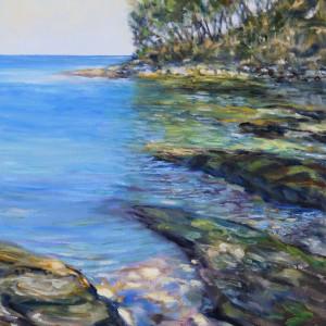 A small Emerald Bay Mayne Island B.C.