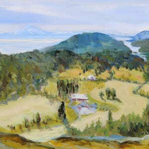 Morning Glenwood Farm Lookout by Terrill Welch