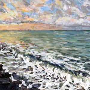 Sunrise at Gordon's Beach study by Terrill Welch