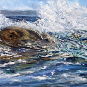 Tossed by the Salish Sea by Terrill Welch