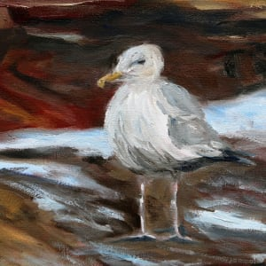 A Gull's Day by Terrill Welch