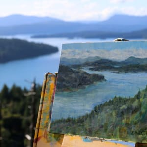 Inside Passage Navy Channel by Terrill Welch