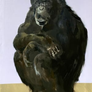 Chimpanzee by Philine van der Vegte
