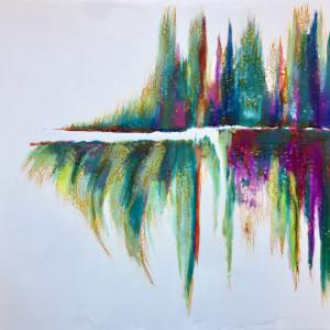 Below/Above- Natures Vibration Series by Linnea Martina  Hannigan